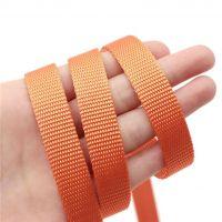 10mm nylon webbing orange