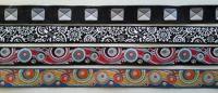 16mm wide jacquard ribbons