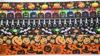 Halloween ribbon 5 metre pack (1m of each)
